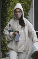 ARIANA GRANDE Leaves a Gym in Los Angeles 06/18/2020