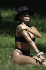 ARIANNA AJTAR in Bikini Sunbathing at a Park in Manchester 06/25/2020