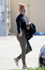 ARIEL WINTER Leaves a Gym in Los Angeles 06/22/2020