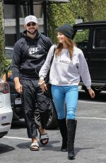 ASHLEY GREENE Arrives at South Beverly Grill in Beverly Hills 06/18/2020