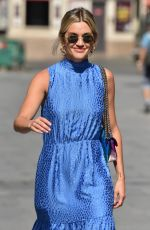 ASHLEY ROBERTS Leaves Heart Radio in London 06/26/2020