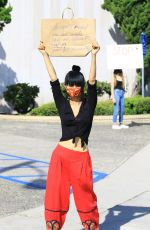 BAI LING at Black Lives Matter Protest in Studio City 06/03/2020