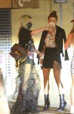 BELLA and DANI THORNE at Nobu in Malibu 06/17/2020