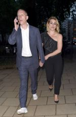 BILLIE PIPER and Laurence Fox Arrives at Glamour Awards in London 06/08/2020