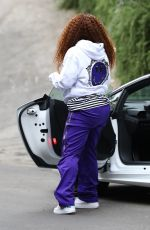 BLAC CHYNA Out and About in Los Angeles 06/20/2020