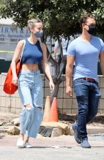 BRIE LARSON Out Shopping at a Market in Malibu 05/31/2020