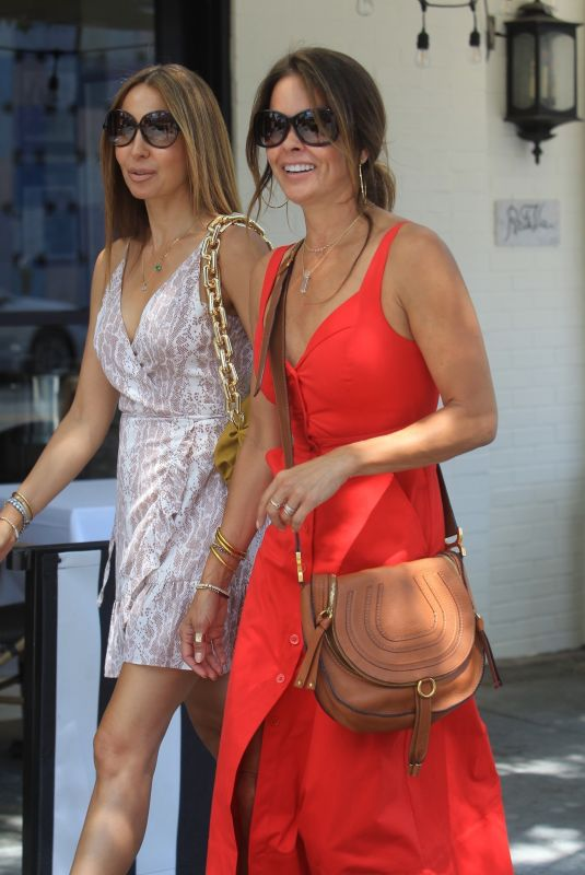 BROOKE BURKE Out and About in Beverly Hills 06/17/2020