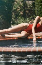 BROOKLYN CLIFT for 138 Water Photoshoot in Calabasas 06/24/2020