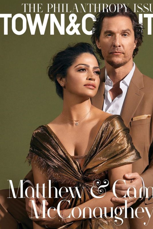 CAMILA ALVES on the Cover of Town and Country Magazine, Summer 2020