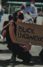 CAMILA CABELLO and Shawn Out Protesting in Miami 05/31/2020