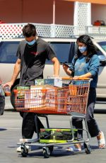 CAMILA MENDES and Grayson Vaughan Out Shopping in Los Angeles 06/27/2020
