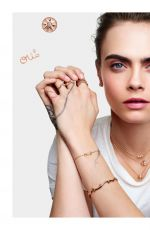 CARA DELEVINGNE for Rose de Vents Jewelry Collection Campaign for Dior 2020