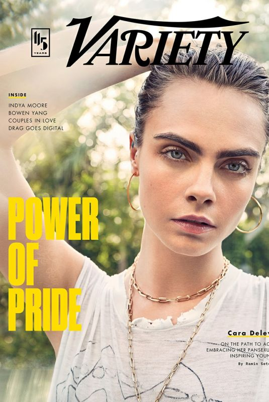 CARA DELEVINGNE in Variety Magazine - Pride Issue, June 2020