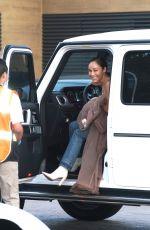 CARA SANTANA Arrives at Nobu in Malibu 06/21/2020