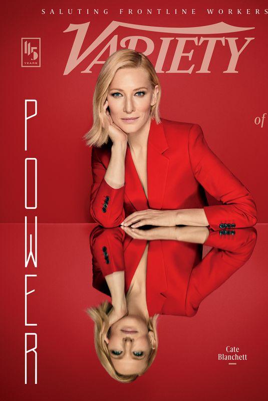 CATE BLANCHETT in Variety Magazine - Power of Women Issue 2020