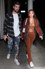 CHANTEL JEFFRIES and Andrew Taggart at Catch LA in West Hollywood 06/13/2020