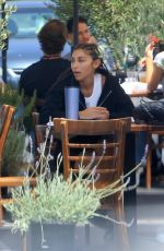 CHANTEL JEFFRIES Out for Lunch at Mauro