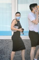 CHARLI XCX and Her Boyfriend Huck Kwong Out in Hollywood 06/14/2020