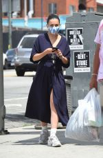 CHARLI XCX at a Framing Store in Los Angeles 06/25/2020