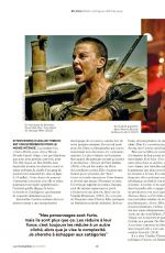 CHARLIZE THERON in Les Inrockuptibles Magazine, June 2020