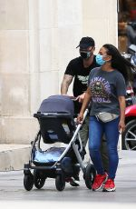 CHRISTINA MILIAN and Matt Pokora on Holiday in Paris 06/29/2020
