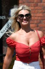 CHRISTINE MCGUINNESS at a Post Office in Wilmslow 06/01/2020