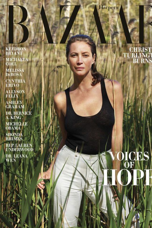CHRISTY TURLINGTON in Harper's Bazaar Magazine, Summer 2020 Issue