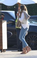 CINDY CRAWFORD in Denim at Soho House in Malibu 06/17/2020