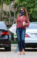 CINDY CRAWFORD Leaves Cafe Habana in Malibu 06/01/2020