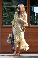CINDY CRAWFORD Leaves Soho House in Malibu 06/24/2020