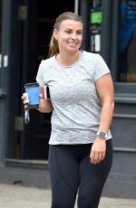 COLEEN ROONEY at Cafe Nero in Cheshire 06/26/2020