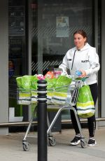 COLEEN ROONEY Shopping at Waitrose Supermarket in Cheshire 06/09/2020