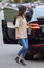 COURTENEY COX Out for Dinner in Santa Monica 06/24/2020
