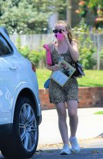 DAKOTA FANNING Out Shopping in Los Angeles 06/19/2020