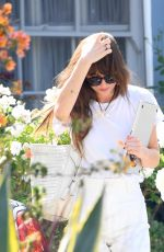 DAKOTA JOHNSON Out and About in Los Angeles 06/25/2020