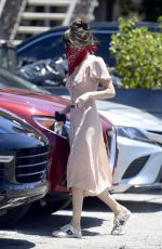 DAKOTA JOHNSON Wearing Bandana Mask Out in Los Angeles 06/11/2020