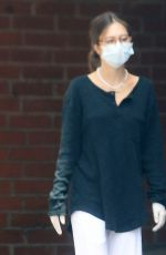 DELILAH HAMLIN Wearing a Mask Out in Beverly Hills 06/01/2020