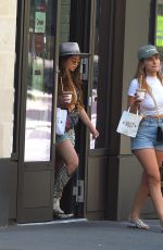 DEMI ROSE and MARIA WILD Shopping at PrettyLittleThing in London 06/26/2020
