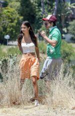 ELISHA HERBERT Out Hiking in Los Angeles 06/04/2020