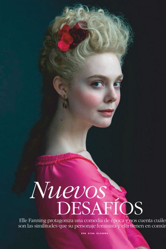 ELLE FANNING in Marie Claire Magazine, Mexico June 2020