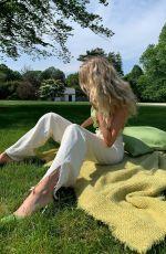 ELSA HOSK at a Park - Instagram Photos 06/20/2020