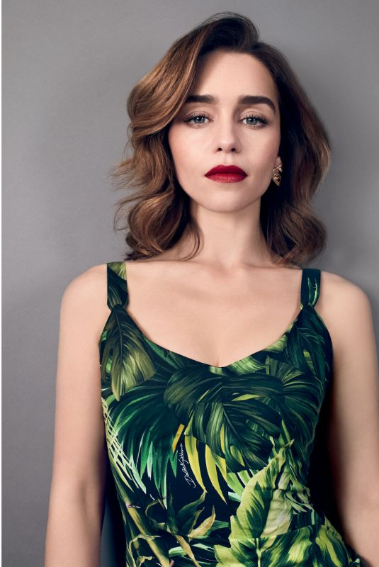 EMILIA CLARKE an A&E Magazine, March 2020