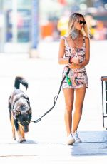 EMILY RATAJKOWSKI Out with Her Dog in New York 06/28/2020