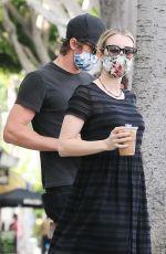 EMMA ROBERTA and Garrett Hedlund at Larchmont Village in Los Angeles 06/06/2020