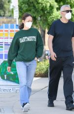 EMMY ROSSUM and Sam Esmail Out in Toluca Lake 05/31/2020