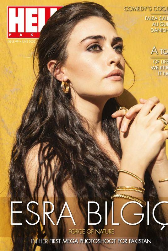 ESRA BILGIC in Hello! Magazine, Pakistan Digital Issue June 2020