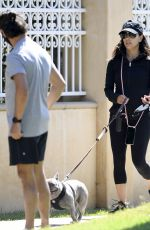 EVA LONGORIA Out qith Her Dog in Beverly Hills 06/08/2020