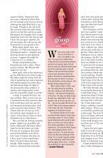 GWYNETH PALTROW in Fairlady Magazine, July 2020