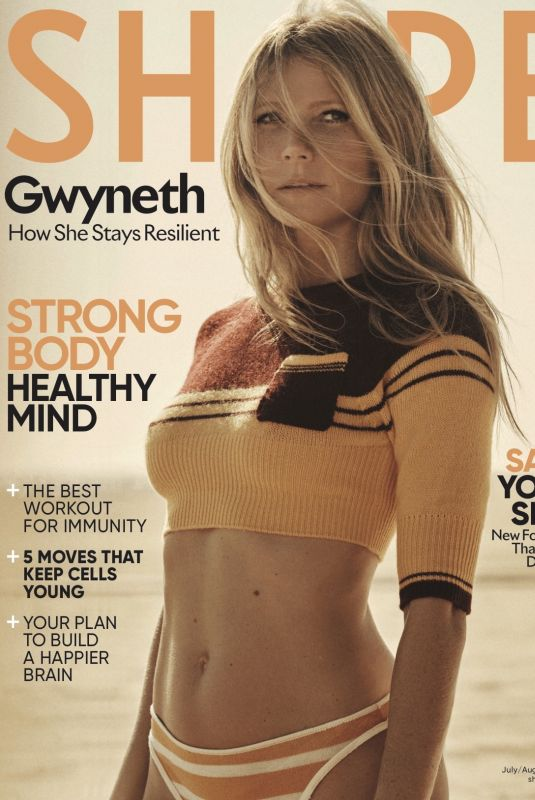 GWYNETH PALTROW in Shape Magaziene, June/July 2020