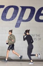 HAILEY BIEBER and KENDALL JENNER at a Gym in Beverly Hills 06/17/2020